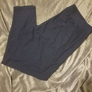 Maurices leggings 2x Navy